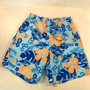 Columbia PFG  Water Shorts Swim Hawaiian- Men's S